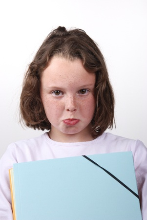 student with folder Stock Photo - 19093713