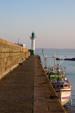Saint Quay Portrieux in Brittany photo