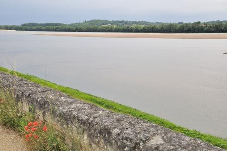 anjou: El borde de la Loire Foto de archivo