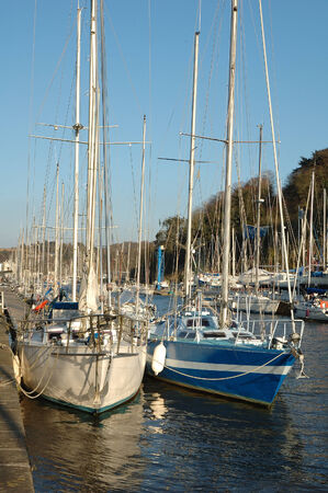 Harbor in Brittany photo