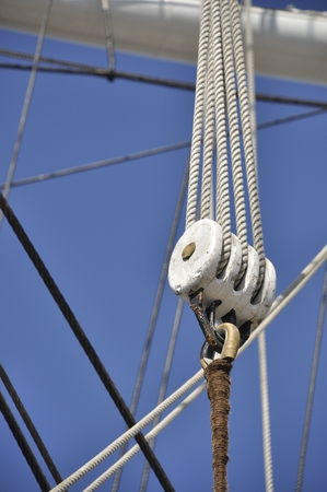 rigging Stock Photo
