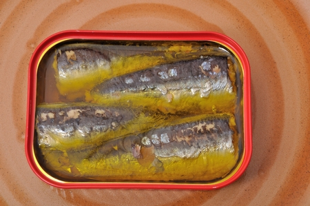 basic food: Sardines in a tin