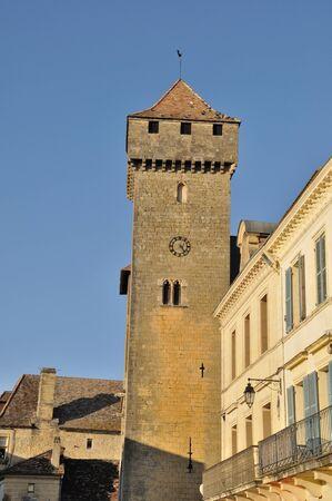 aquitaine: France Aquitaine Dordogne BeaumontduPrigord St Front fortified church