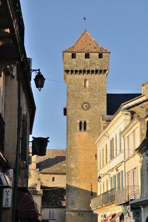 aquitaine: France, Aquitaine, Dordogne, Beaumont-du-Périgord, St Front fortified church