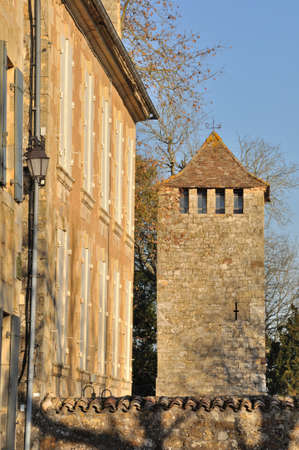 aquitaine: France, Aquitaine, Dordogne, Beaumont-du-P�rigord, St Front fortified church
