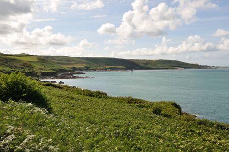 normandy: France, Normandy, Cotentin, landscape, seafront Stock Photo