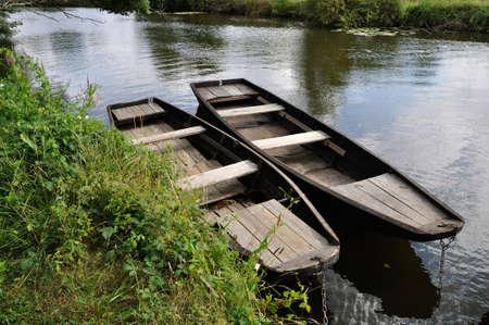 punter: boat on Layon river