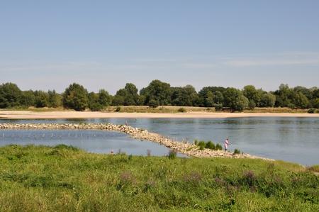 anjou: Loire river in Anjou