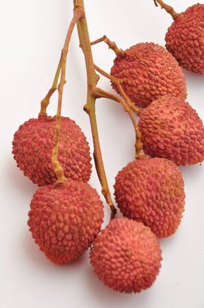 lychees: Branch of lychees