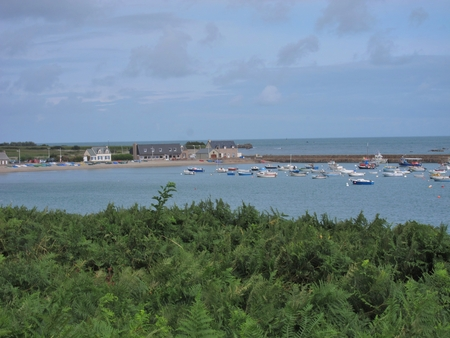 rogue: France, Normandy Region, Manche Department, Omonville La Rogue Stock Photo