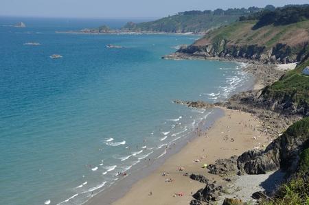 The Brittany coast in Plouha