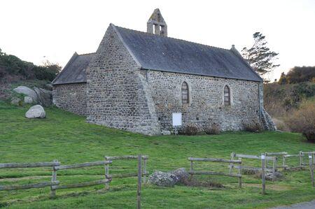 Chapel Saint Marc at Treveneuc in Brittany