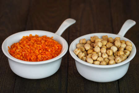 cheakpea and lentil