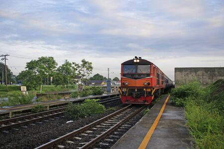 suburban: Suburban trains in Thailand