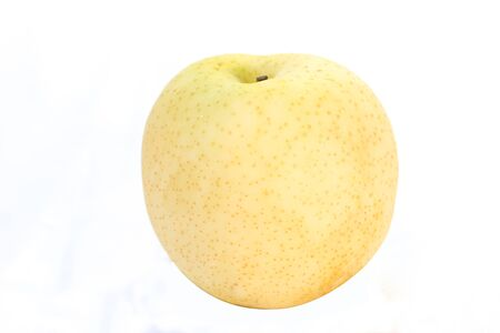 asian pear: Chinese pear with white background