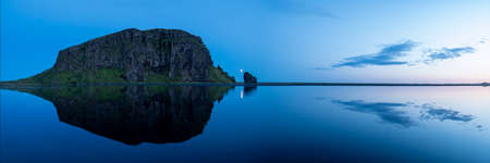 Picture of Mountain lake panorama in Iceland