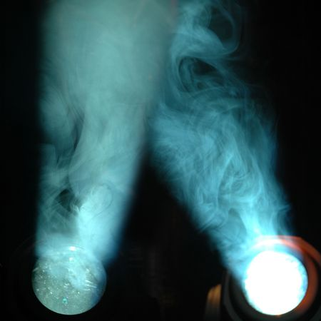 hot spot: Lights and smoke. Two separate files are put togeter in this file.