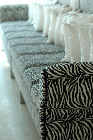 Trendy sofa. photo
