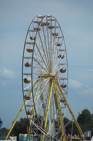 ferriswheel: Ferriswheel in una fiera
