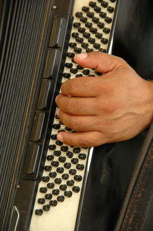 harmonica: Man playing his harmonica