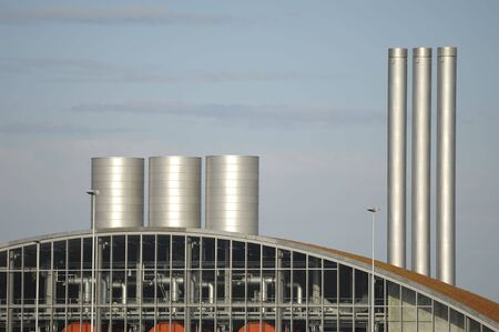 non: Non polluting facility which is producing gas based on organic waste materials.
