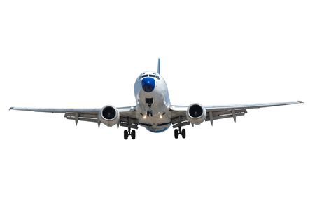 Plane on a clean white background Stock Photo - 3136192