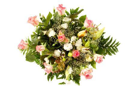 Ramo de flores mixtas Foto de archivo