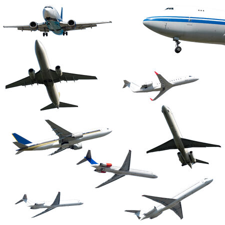 privat: Collection with many planes on a clean white background. 3500 x 3500 pixels