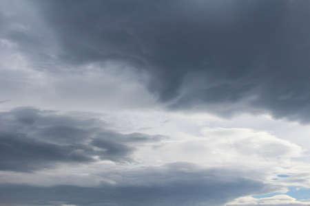 restlessness: Sky black cloud began to cover the blue sky