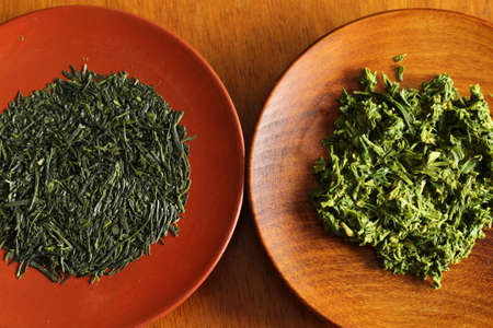 insipid: Tea leaves and insipid