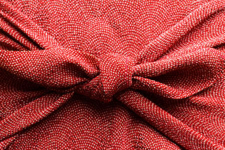 japan: Furoshiki wrapping