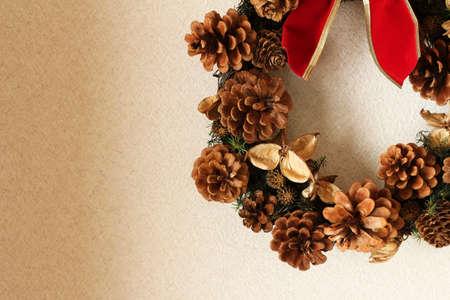 christmas decor: Christmas wreath