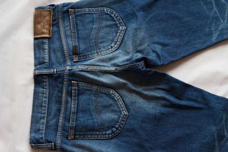 bottoms: Denim bottoms Stock Photo