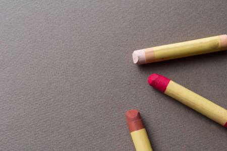 teaching crayons: crayon Stock Photo