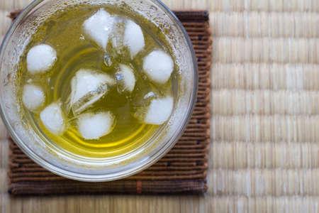 japanese tea: Cold Japanese tea