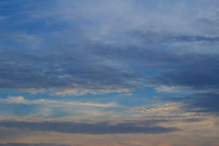 suggests: Sky at dusk