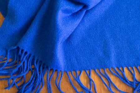muffler: Blue muffler