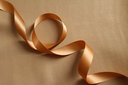 A sophisticated gift image of the gold ribbon