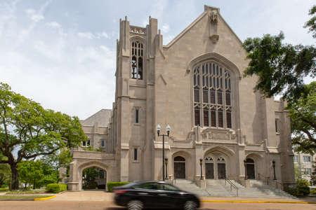 Jackson, MS / USA: First Baptist Church of Jackson, MS 新聞圖片
