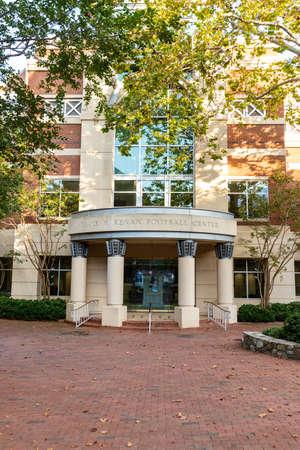 Chapel Hill, NC / USA - October 23, 2020: Frank H. Kenan Football Center on the campus of the University of North Carolina
