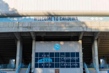 Chapel Hill, NC / USA - October 23, 2020: Kenan Stadium on the campus of the University of North Carolina
