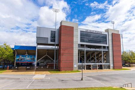 Ruston, LA / USA - October 10, 2020: Joe Aillet Stadium, home of Louisiana Tech Football