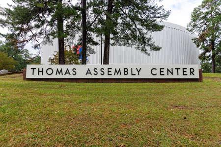 Ruston, LA / USA - October 10, 2020: Thomas Assembly Center on the campus of Louisiana Tech