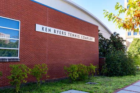Atlanta, GA / USA - October 29 2020: Georgia Tech Ken Byers Tennis Complex 新聞圖片