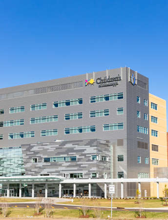 Jackson, MS - January 5, 2021: Kathy and Joe Sanderson Tower at Children's of Mississippi Hospital at the University of Mississippi Medical Center, opened in November 2020. 新聞圖片