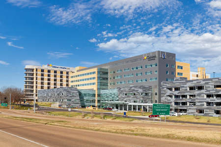 Jackson, MS - January 5, 2021: Children's Hospital at the University of Mississippi Medical Center 新聞圖片