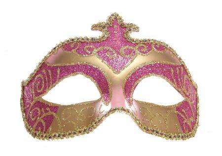 masquerade mask studio cutout on white background