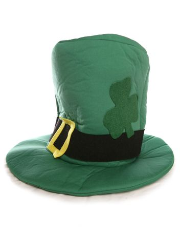 St patricks day hat studio cutout