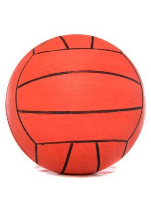 Water polo ball studio cutout photo