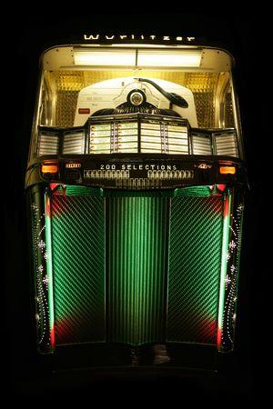 Wurlitzer Jukebox 200 selection